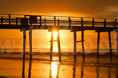 ventnor pier (wm anderson) Tags: new city orange sun beach d50 catchycolors pier sand nikon nj atlantic ventnor jersey ac nikonstunninggallery abigfave