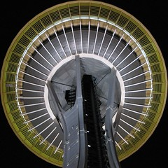 Space Needle Squared - by Sathya R