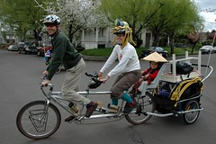 Puppet parade bike move