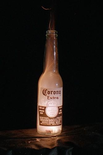 Corona On Fire
