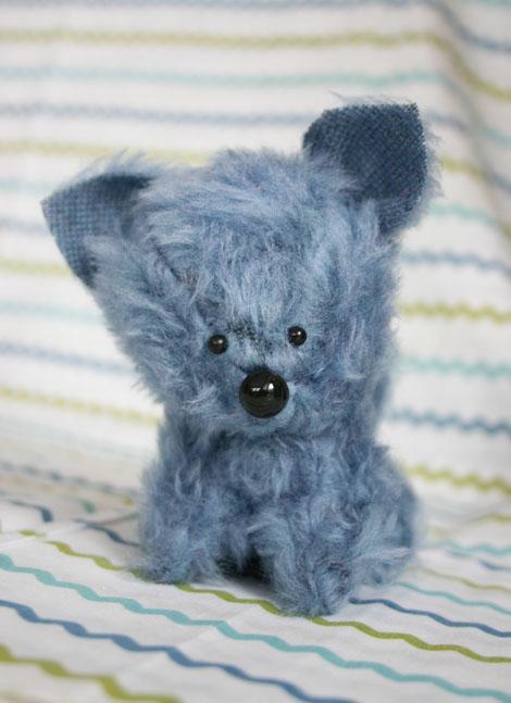 fuzzy was a puppy