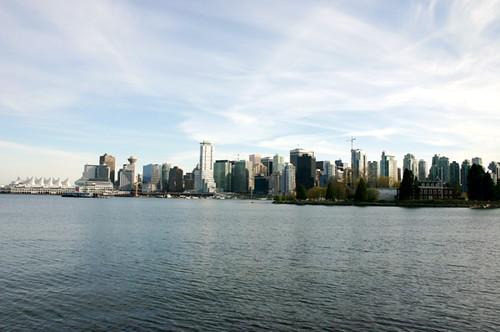 Vancouver along the sea