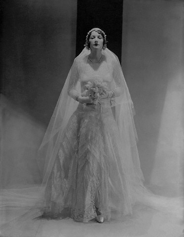 vintage wedding dress picture