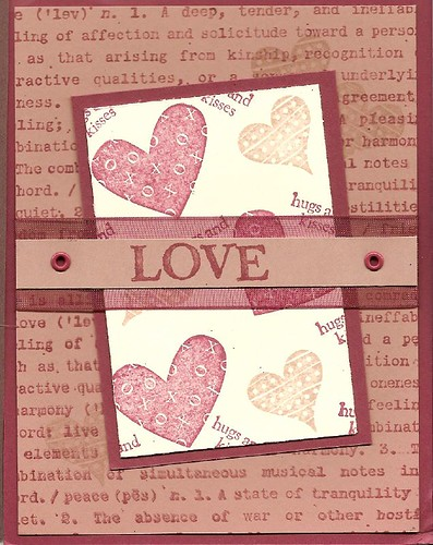 Handmade Cards For Valentines Day. Valentines Day Handmade Card