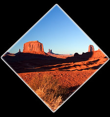 monument valley-diamond (Mike Rodriquez) Tags: luminosity