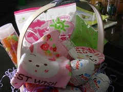 basket (Julie K in Taiwan) Tags: cute basket kawaii goodies easterbasket easter2006