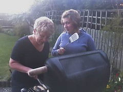 Mom and me BBQ
