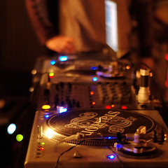 Tools of the trade (ilmungo) Tags: chris light music booth dj lounge warehouse turntables setup console chillout lanightlife