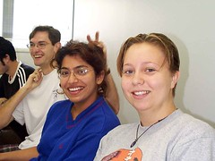 Lab Meeting Wrap-up (timbeckenham) Tags: work science 1999 department microbiology uq
