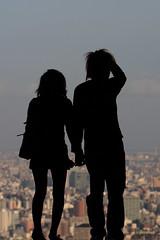 Couple (mrhayata) Tags: sunshine silhouette japan geotagged tokyo blog couple ikebukuro 日本 東京 池袋 シルエット 東京都 サンシャイン 展望台 カップル toshima 豊島区 mrhayata geo:lon=1397183328 geo:lat=357290903