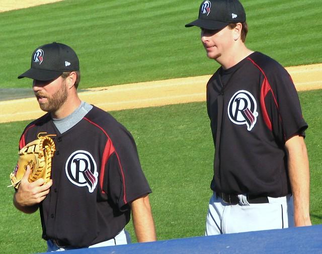 RA Dickey and Scott Feldman