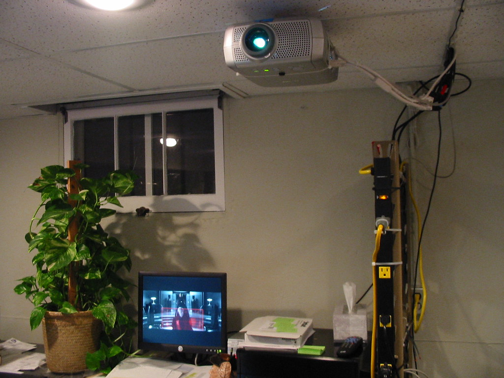 Projector & KVM