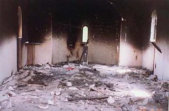 the holy trinity church (Slike Kosova) Tags: history church truth south serbia kosovo terrorists destroyed nato ruined kfor