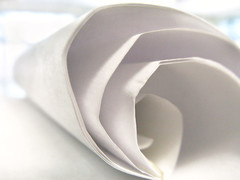 curled paper (Mr.  Mark) Tags: light white abstract flower macro rose paper spiral soft deleteme10 shell curls lookatme curl notepad flickrchallengegroup deleteme10too markboucher
