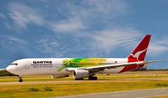 QANTAS Colour-02+ (Sheba_Also) Tags: airport brisbane qantas 767 767300