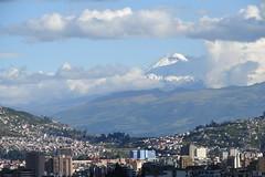 View of Cotopaxi (sortasandy) Tags: city southamerica skyline volcano quito ecuador snowcapped cotopaxi