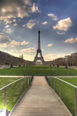 Torre Eiffel (HDR) Eiffel Tower (R.Duran) Tags: paris france tower nikon europa europe tor