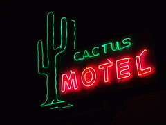 Cactus Motel (Curtis Gregory Perry) Tags: old light cactus signs classic luz glass sign night vintage licht neon pretty glow bright lasvegas antique lumire nevada tube tubes motel ne retro nv signage glowing dying luce muestra important signe sinal neons  zeichen  non segno    northlasvegas   teken      glowed    neonic