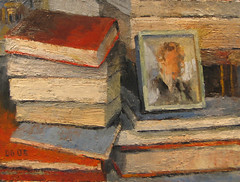 Still life (dgray_xplane) Tags: stilllife art schilder painting artwork artist photos kunst paintings stilleben 2006 april oilpaintings thepleasuresofthetext oilpainting kunstenaar naturemorte xplane naturamorta pleasuresofthetext davegray dgray dgrayxplane hetschilderen oliehetschilderen