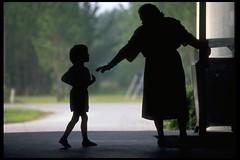 First Day of School (jetrotz) Tags: film silhouette wow child screensaver first teacher savannah portfolio firstdayofschool