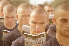 5 (haircutsz) Tags: boy haircut face hair buzz cut bald crew ear shave forced butch induction stubble nape