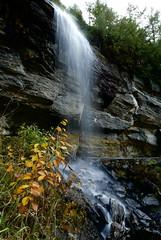 Bridal Veil (jetrotz) Tags: favorite waterfall screensaver foliage highlandsnc