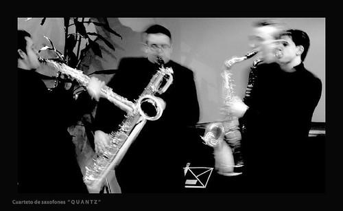 """Cuarteto de saxofones """"Quantz"""""""