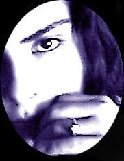 joup_azul (Karen Joup) Tags: black reed face azul sepia rojo negro karen lila heredia joup
