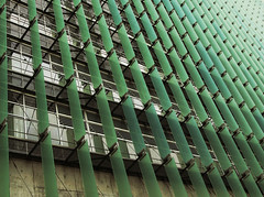 Green Glass Fade (Andrew Morrell Photography) Tags: sf sanfrancisco new green glass construction perspective newbuilding morrell