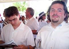 KY Oaks 2006 -Donald Makes Picks, Sam Mugs (paulsisler) Tags: sam donald churchilldowns louisvilleky oaksday kyoaks