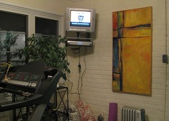 Sun Room TiVo (super-structure) Tags: painting stacie tivo netherton