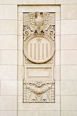 Eagle & Shield (Viajante) Tags: architecture texas eagle postoffice historic ornamental fortworth uspostoffice tarrantcounty