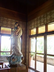 Virgin with Baby Jesus at the Monastery of the Transfiguration (diamonds_in_the_soles_of_her_shoes) Tags: church statue philippines chapel virgin monastery babyjesus mindanao bukidnon benedictinemonastery malaybalay monasteryofthetransfiguration