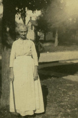 Catherine Ann Labar Maynard Playing Croquet (PD Wylde) Tags: sports vintage troy kansas croquet maynard labar tioga