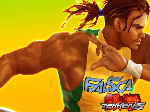 Tekken 5 fighter Eddy Gordo