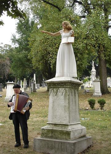 Angel & Accordionist