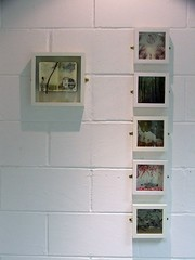...work (the3robbers) Tags: art assemblage cardiff 2ndyear printmaking boxes uwic finalshow the3robbers