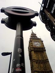 London (Martin Deutsch) Tags: london stickers housesofparliament parliament bigben portcullishouse londonunderground roundel comicsans palaceofwestminster
