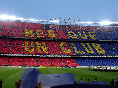 Ms que un Club (Itotti69) Tags: barcelona colors football europe colours ronaldinho soccer topv1111 topv999 2006 gloria badge alegria catalunya fans players futbol deco campnou bara fcbarcelona championsleague noucamp larsson topv888 aficin blaugrana favorites15 favorites20 views1100 views1000 views1400 views1300 views1500 views2000 views1700 championleague views3000 views4000 afici views5000 views1200 views10000 views6000 views1600 views1800 views1900 views2100