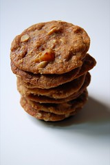 Apricot Almond Oatmeal Cookies© by Haalo