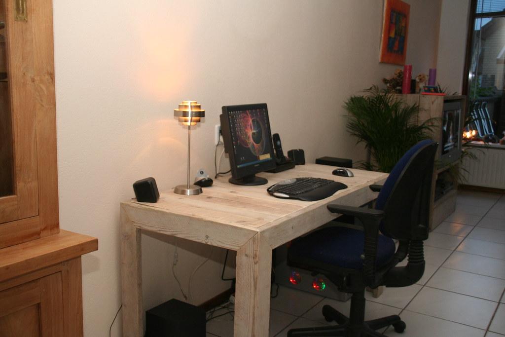 Computertafel Van Steigerhout.The World S Newest Photos Of Computertafel Flickr Hive Mind