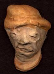 sculpture art faces