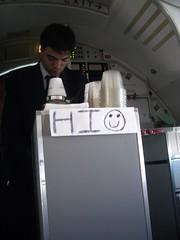 Tony on US Airways