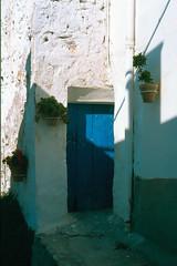 Mojacar (Almería). Detalle de casa. (Paco Guerrero Roldán) Tags: azul andalucía arquitectura almería mojacar alandalus andalusí eligetucolor