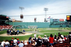 Fenway Park: Batting Practice