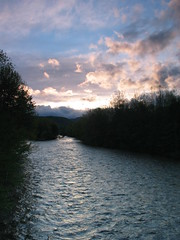 (BenFrantzDale) Tags: sunset river berkshires gnd 3stophard