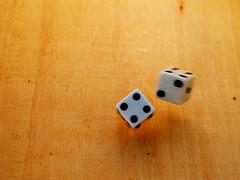 Thrown Dice (Cyron) Tags: dice photo flickr random flickrimportr 2006 zuiko throw cyron zd 35mmf35 35mmmacro35