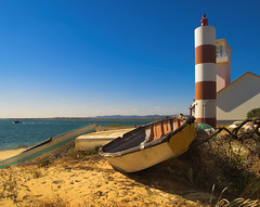 THE WAITING BOAT (peke_cheeks) Tags: beautiful nice great farol algarve excellence ilhadofarol yougotit plus4 thisisportugal plus4excellence invitedphotosonlyplus4