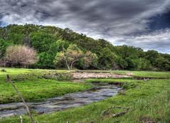 Tranquil Stream (bsmith4815) Tags: water creek landscape countryside scenery nebraska stream scenic ne prairie hdr photoshopcs2 coldwater photomatix bsmith4815