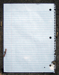 Blank sheet of paper (dgray_xplane) Tags: detail walking details stlouis may 2006 mo missouri saintlouis may2006 4sequence